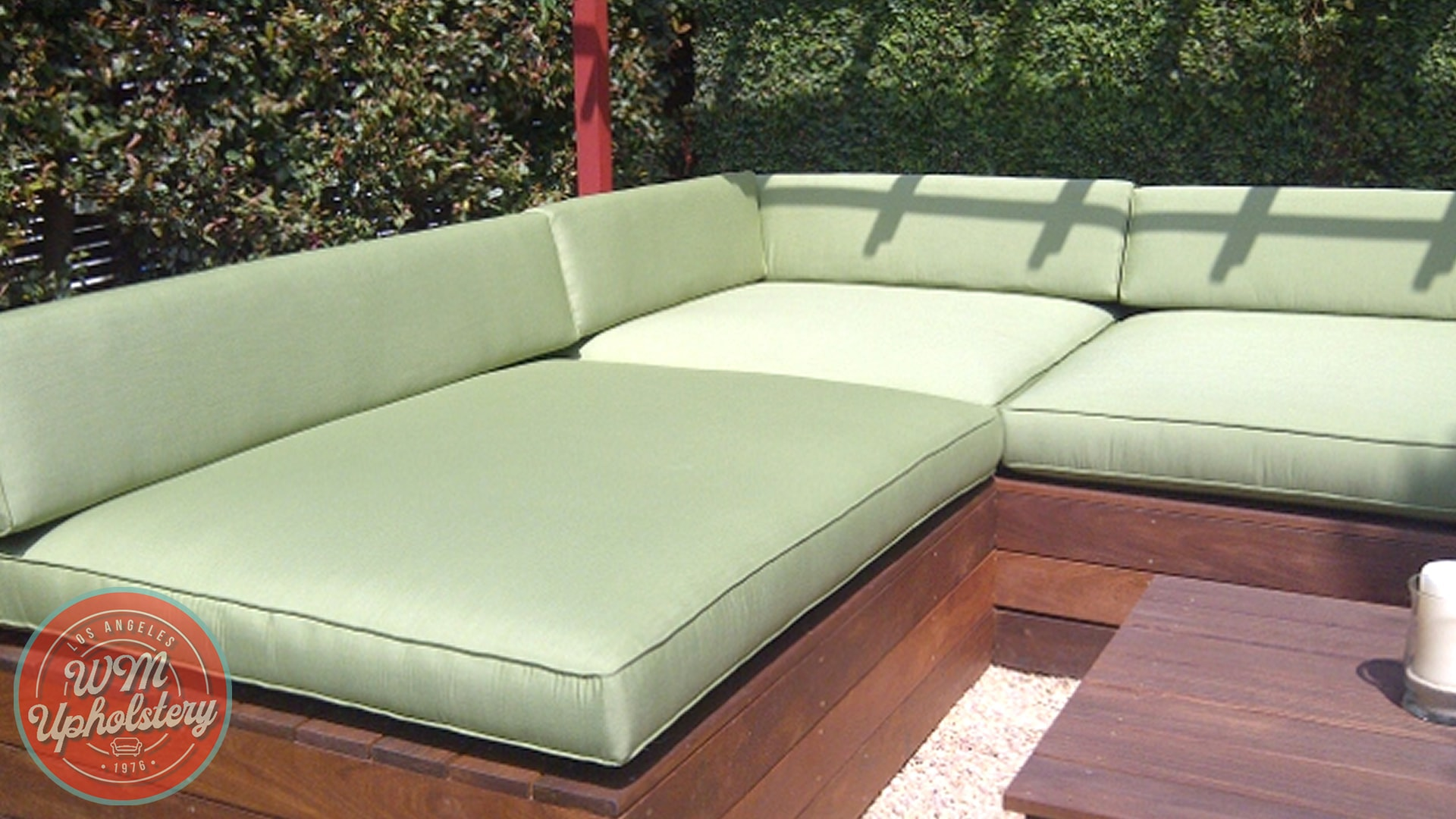 professional patio cushion upholstery